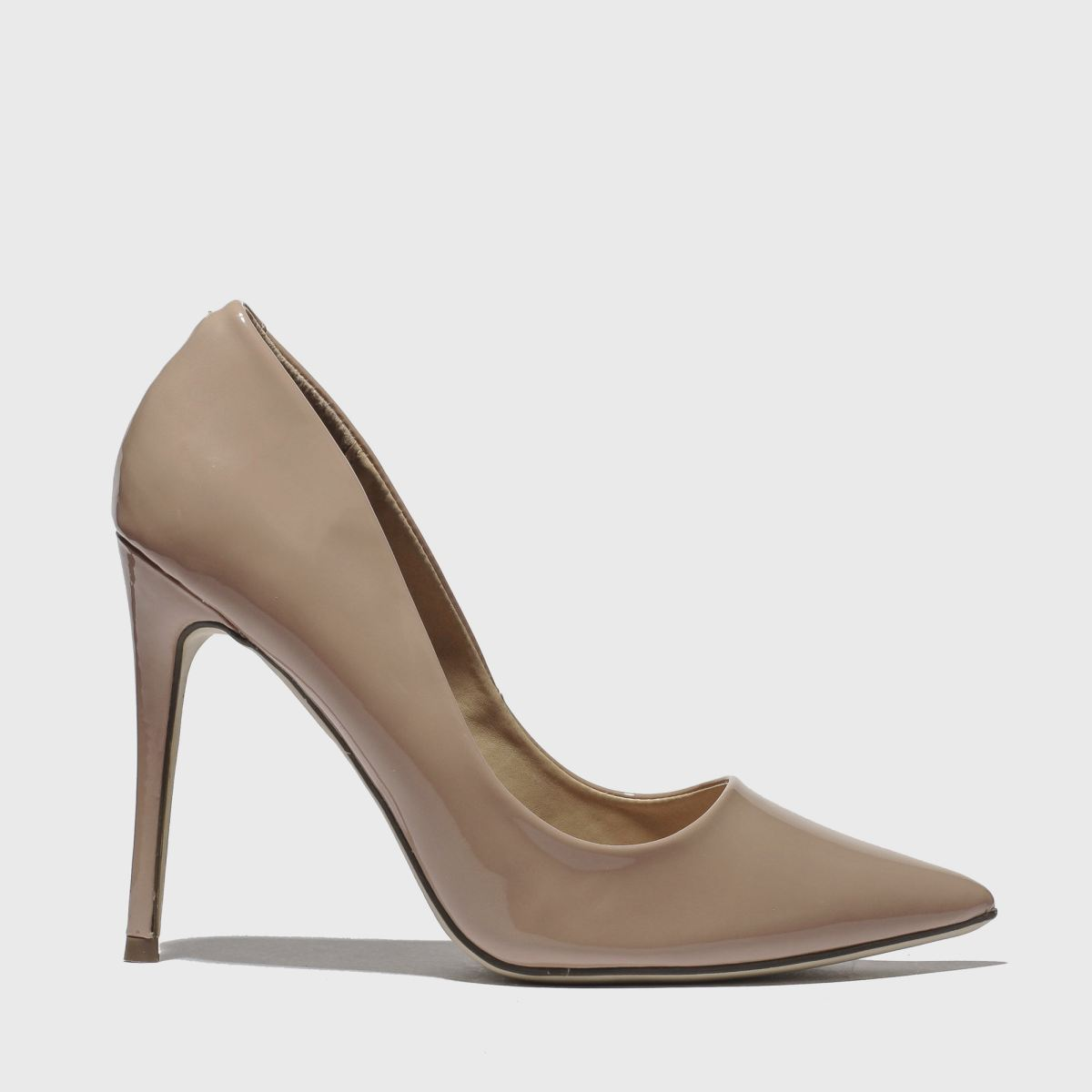 Missguided Pale Pink Entry Court High Heels