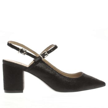 Schuh Black Annie Womens Low Heels
