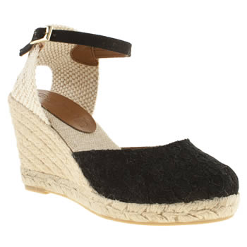 womens schuh black fiesta low heels
