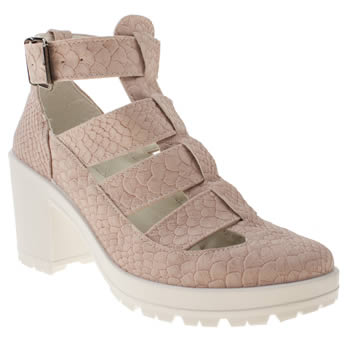 Womens Schuh Pale Pink Jeopardy Low Heels