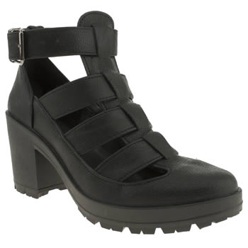Schuh Black Jeopardy Low Heels