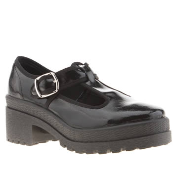 Womens Schuh Black Night Out Low Heels