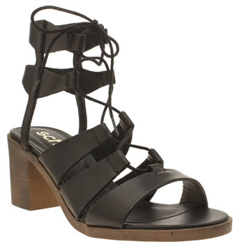 Womens Schuh Black Pixie Low Heels