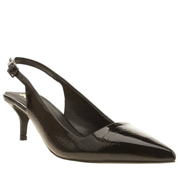 Womens Schuh Black Home Coming Low Heels