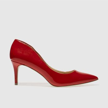 Schuh Red Flutter Womens Low Heels
