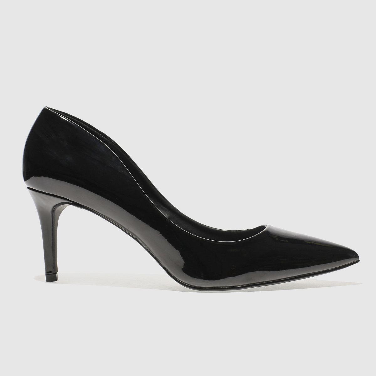 Schuh Black Flutter Low Heels