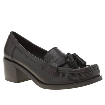 Schuh Black Madison Low Heels