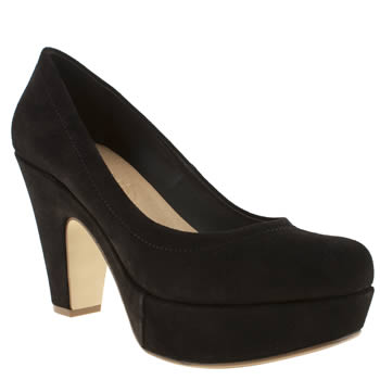 Schuh Black Sweet Talk Low Heels