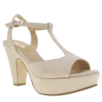 Schuh Natural Blush Womens Low Heels