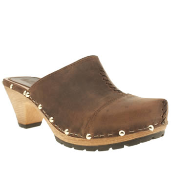 Womens Schuh Brown Bestie Low Heels