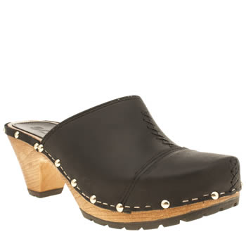 Womens Schuh Black Bestie Low Heels