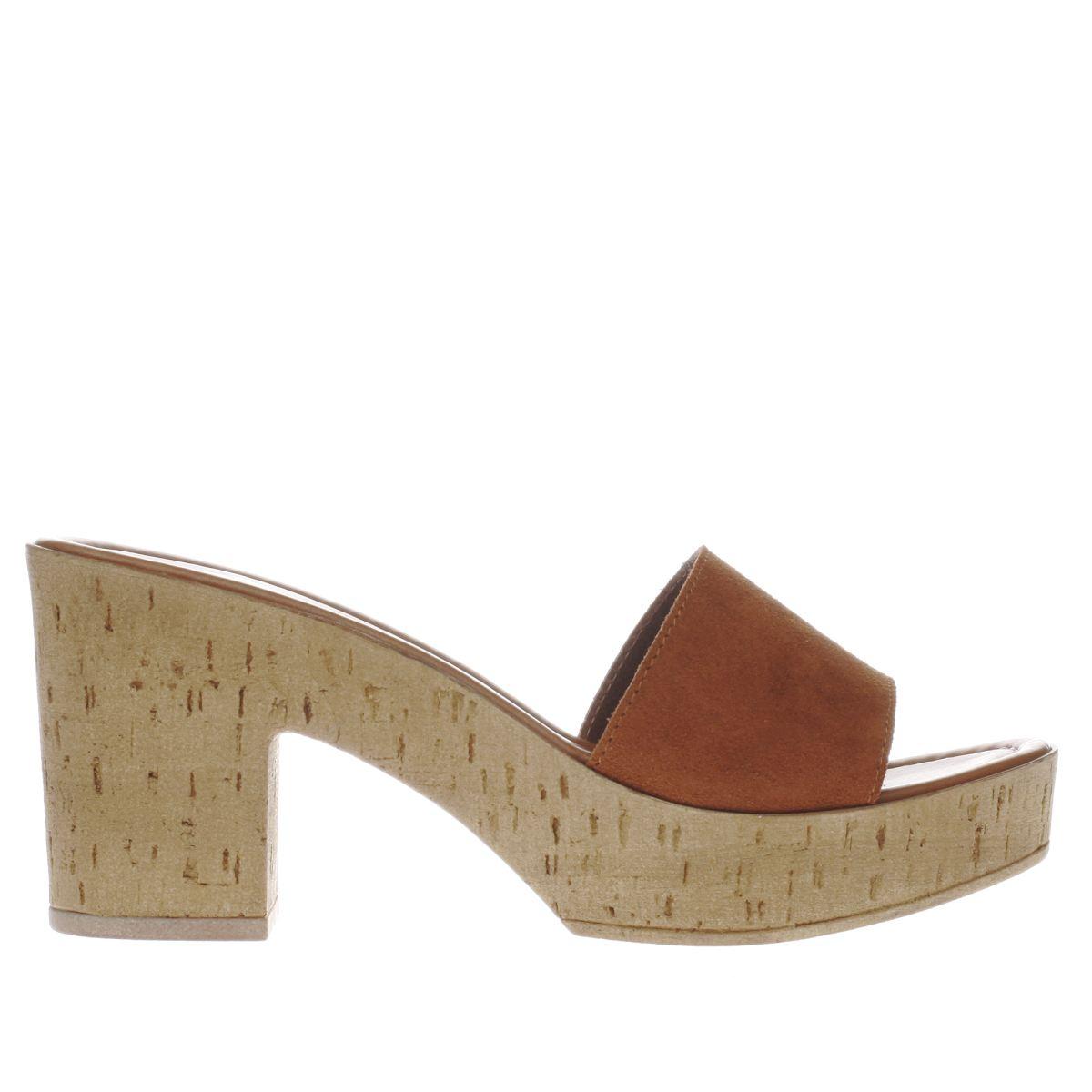 schuh tan san fran low heels