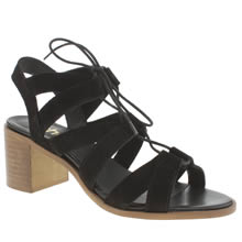 Schuh Black Shero Womens Low Heels
