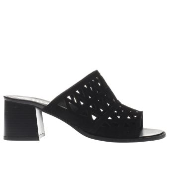 Schuh Black Retrospect Womens Low Heels