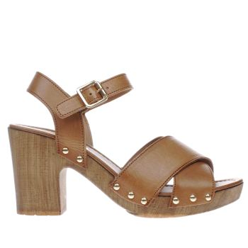 Schuh Tan Chicago Womens Low Heels