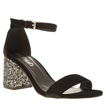 Schuh Black Belle Womens Low Heels