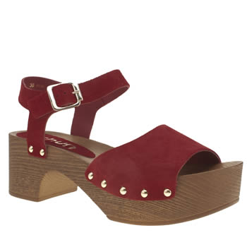 Womens Schuh Red Dreamy Low Heels