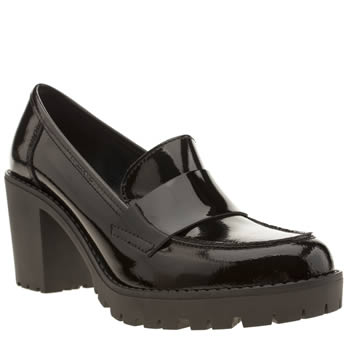 Womens Schuh Black Kudos Low Heels