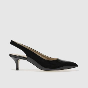 Schuh Black Picture Perfect Womens Low Heels