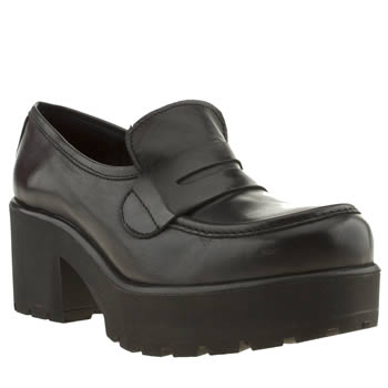womens schuh black grades low heels