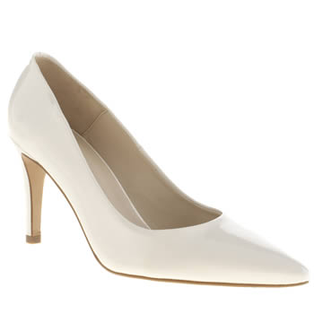 Womens Schuh White Fluke High Heels