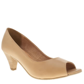 womens schuh natural honeycomb low heels