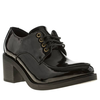 Womens Schuh Black Assignment Low Heels