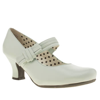 Hush Puppies Light Green Philippa Bow Low Heels