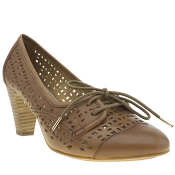 Womens Hush Puppies Tan Francesca Lennox Low Heels
