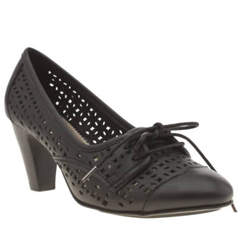 Womens Hush Puppies Black Francesca Lennox Low Heels