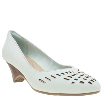 Hush Puppies Pale Blue Liberty Valentine Low Heels