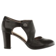Hush Puppies Black Devynn Sisany Womens Low Heels