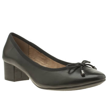 Hush Puppies Black Nikita Discover Womens Low Heels