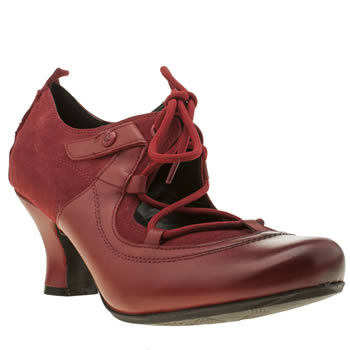 Hush Puppies Red Melissa Verona Womens Low Heels