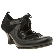 Hush Puppies Black Melissa Verona Low Heels