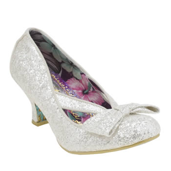 Womens Irregular Choice Stone Fancy That Cross Strap Low Heels