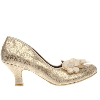 Irregular Choice Stone Florazzle Floral Low Heels