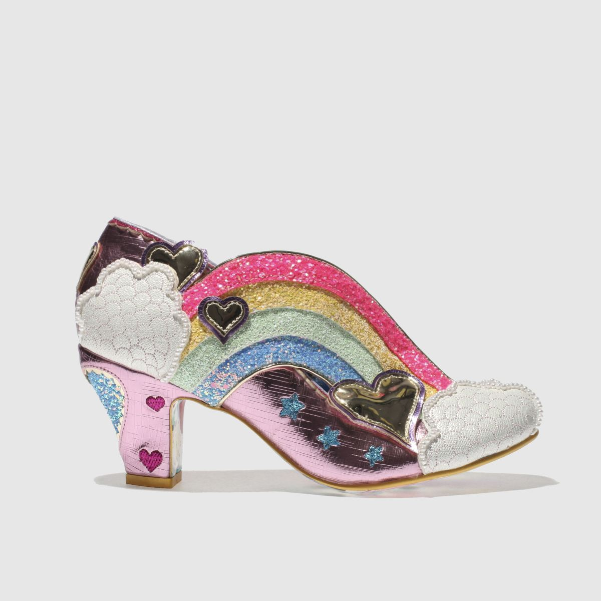 Irregular Choice Irregular Choice Pink Summer Of Love Low Heels