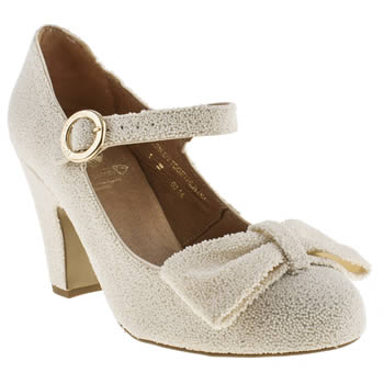 Red Or Dead Ivory Lindy Hop Low Heels