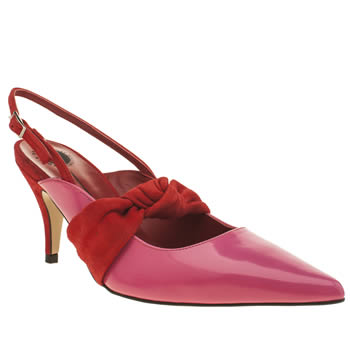 Womens Red Or Dead Pink X Ashley Williams Off The Dial Low Heels