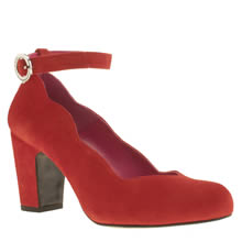 Red Or Dead Red Go Flo Womens Low Heels