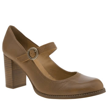 Red Or Dead Tan Thelma Low Heels