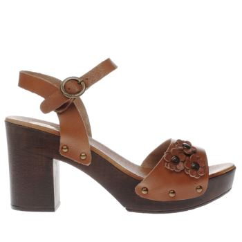 Red Or Dead Tan Karlene Low Heels