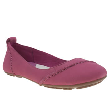 Womens Hush Puppies Pink Janessa Flats