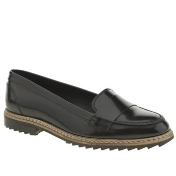 Womens Schuh Black Invest Flats