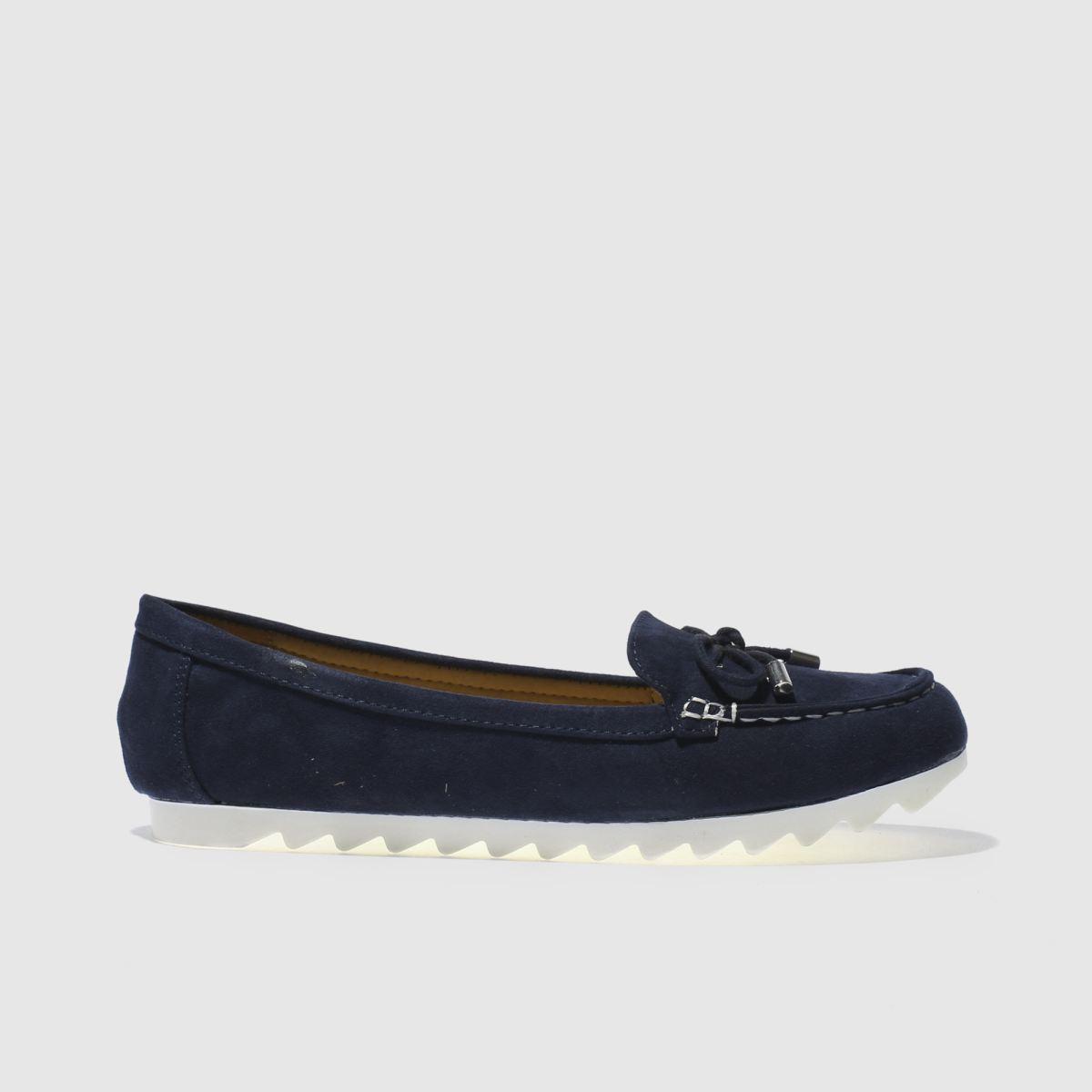 schuh Schuh Navy Jetsetter Flat Shoes