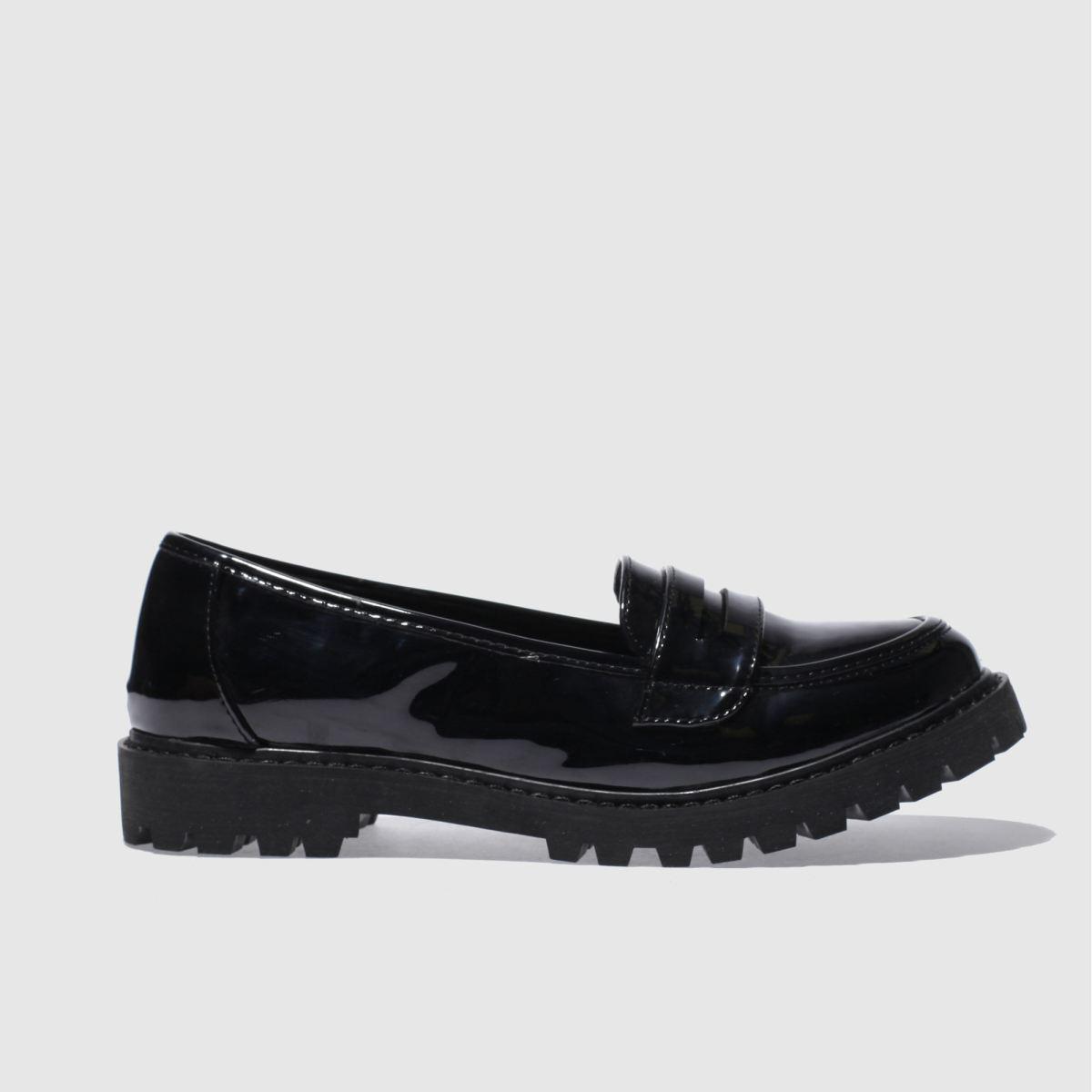 schuh black atlas flat shoes