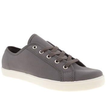 womens schuh dark grey good times flat shoes