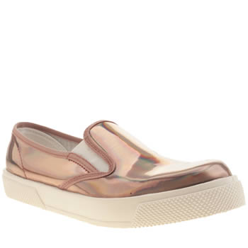 Schuh Bronze Awesome Slip On Flats