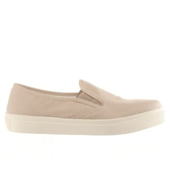 Schuh Natural Awesome Slip On Womens Flats